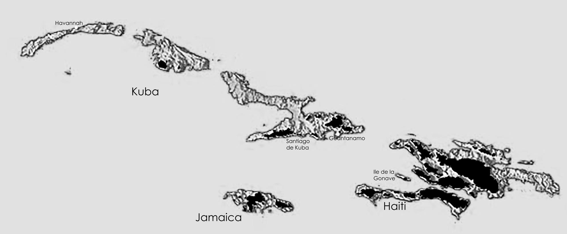 Kuba und Haiti
